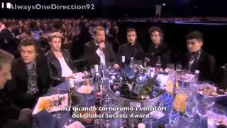 One Direction Video - One Direction on BRITs 2014 - SUB ITA