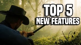 Red Dead Redemption 2 Gameplay: TOP 5 NEW FEATURES + ANALYSIS!