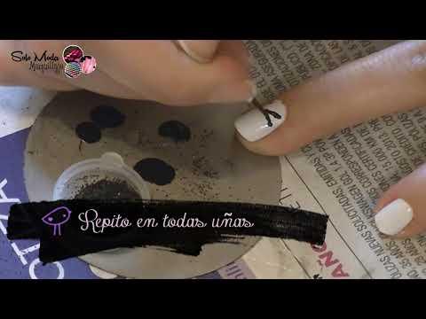 •♥Diseño de uñas mini esmoquin!! (PETICION)