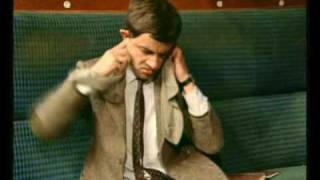 mr. bean - Mr Bean rides the train