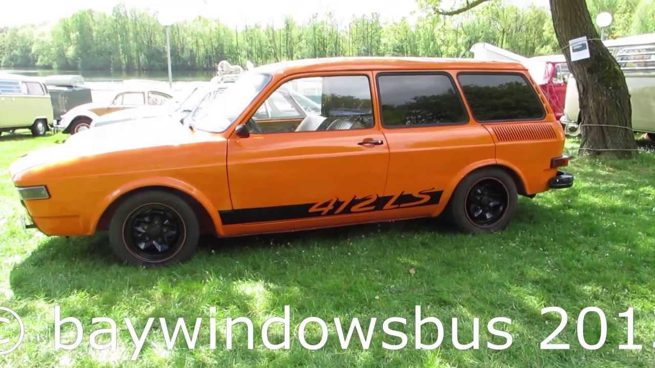 1973 Vw Type4 411ls Squareback Orange Nuenen 2013 Youtube