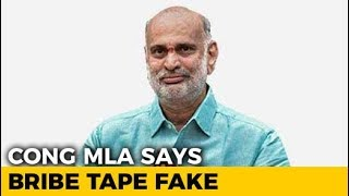 Congress Lawmaker Says Bribe Tape Against BJP Fake, Embarrasses Party