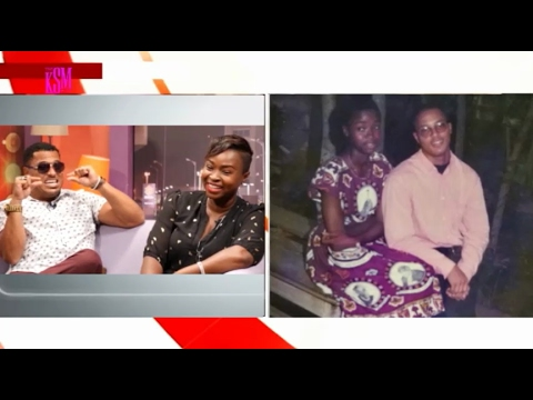 Van Vicker joins his Wife Adjoa for an Interview on the KSM Show [Part 1]