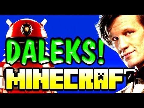 Minecraft DALEK Doctor Who Mod! EXTERMINATE!