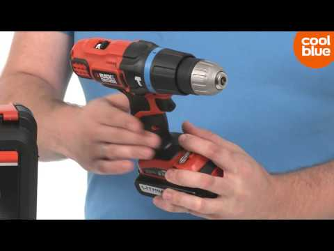 Black & Decker EGBL188KB-QW accu klopboormachine productvideo (NL-BE)