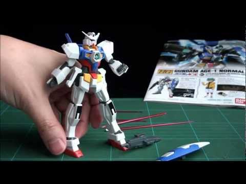 Review! HG 1/144 Gundam AGE-1 Normal ガンダム AGE-1 ノーマル