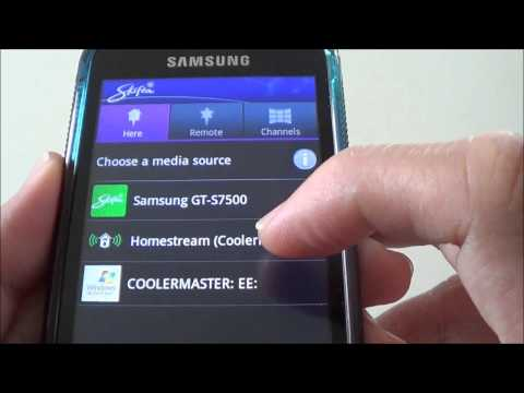Video Streaming from PC to Samsung Galaxy Android Smartphone