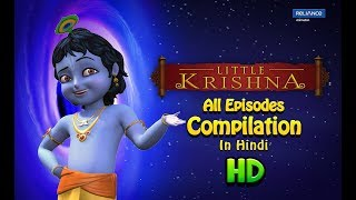 Little Krishna | Compilation - All Episodes