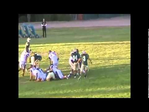 2012 James Shreckengost JR #44 Middle Linebacker Moreau Catholic High School