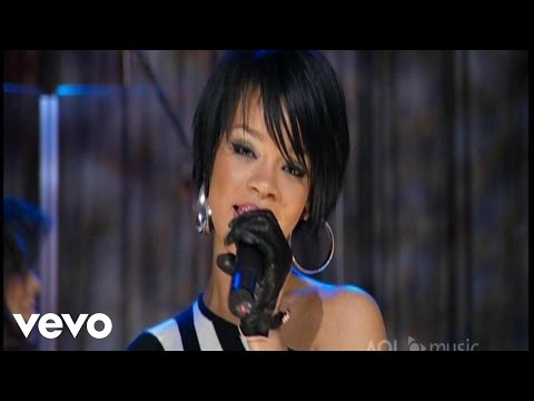 Rihanna - Shut Up and Drive (live)