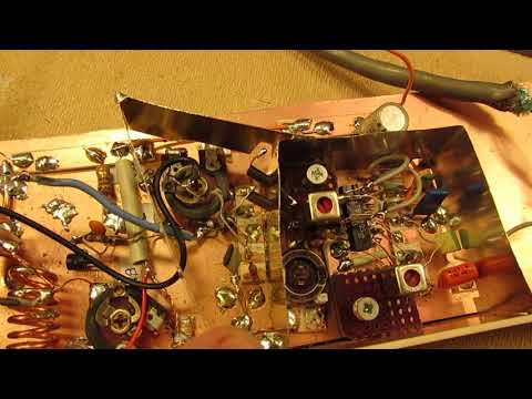 Simple FM radio receiver for the 88-110 MHZ band Schematic and demo with a TBA 120 IF Amp.