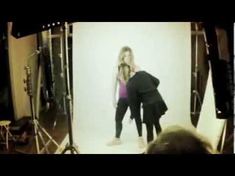 Giorgio Panariello & Vanessa Incontrada Backstage spot Wind palestra dicembre 2013