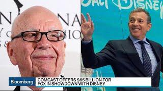 How Will Disney Respond to Comcast's Fox Bid?