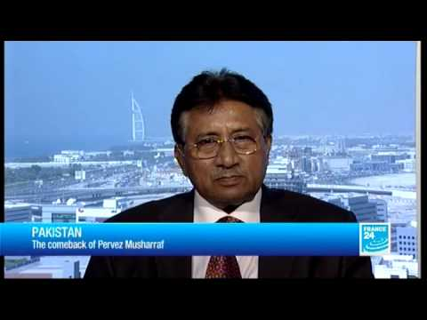FRANCE 24 The Interview - Pervez Musharraf, Former Pakistani President