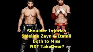 Sami Zayn & Hideo Itami Injured & Out of NXT TakeOver?