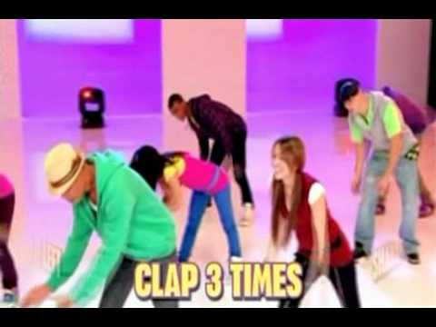 Miley Cyrus - Hoedown Throwdown - Pasos De Baile . video