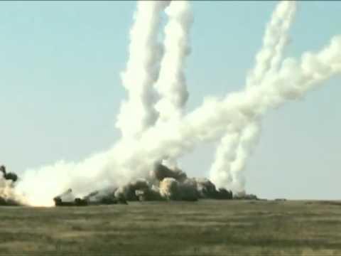 Missiles Launch TBM «Iskander-M», OTR «Tochka», MLRS «Smerch»