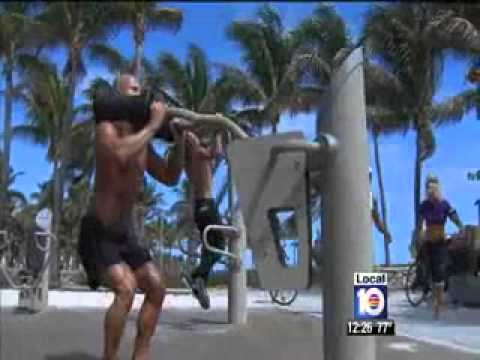 Outdoor Gyms To Open In Miami, Miami Beach   Video   WPLG Miami