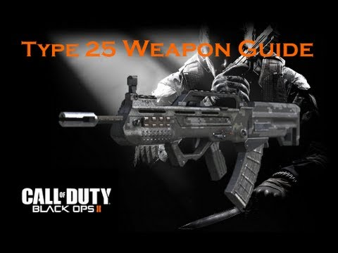 Call of Duty Black Ops 2 Weapon Guide: Type 25 (Best Class Setup and Best Game Strategies)