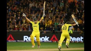 Winning moments of Australia and England | World cup 2019