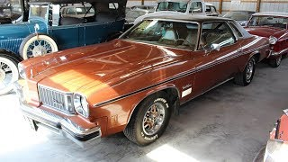1975 Olds Cutlass Supreme 350 V8, Swivel Buckets, Factory AC