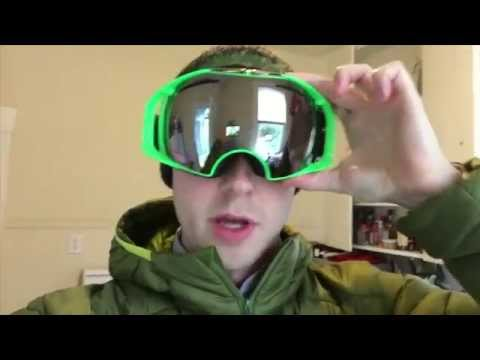 Oakley Airbrake Prizm Sochi 2015 Goggles Unboxing and Review