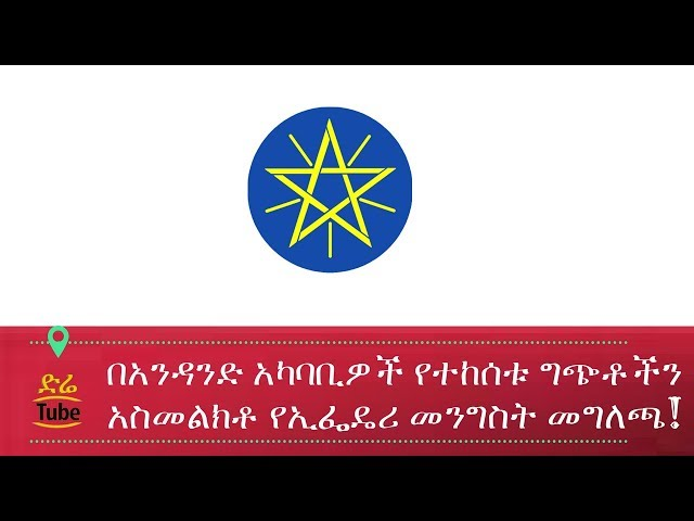 Press Release From Ethiopian Government