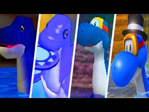 Evolution of Dorrie in Super Mario Games (1996 - 2017)
