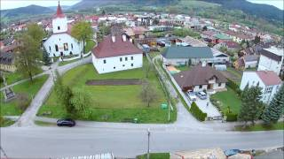 Drone footage with Buddytoys drone 40
