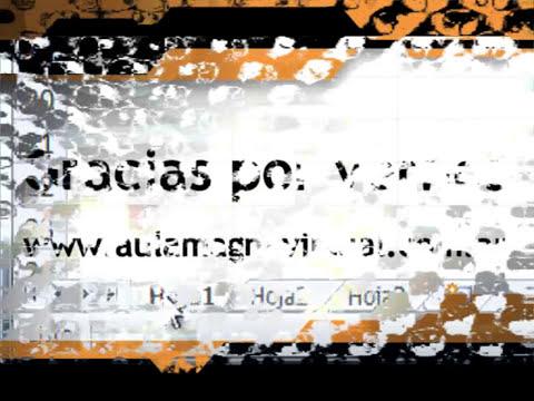 Curso Gratuito de Microsoft Excel 2010 Nivel Básico - Módulo 02 - Parte 02.