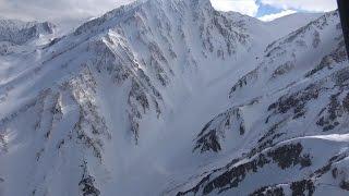 北アルプスで雪崩 男性1人不明