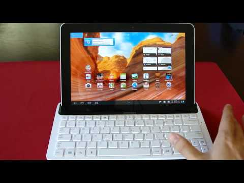 Samsung Galaxy Tab 10.1 Keyboard dock Review