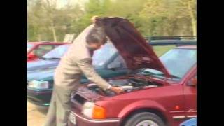 Old Top Gear 1991 - Car Fires