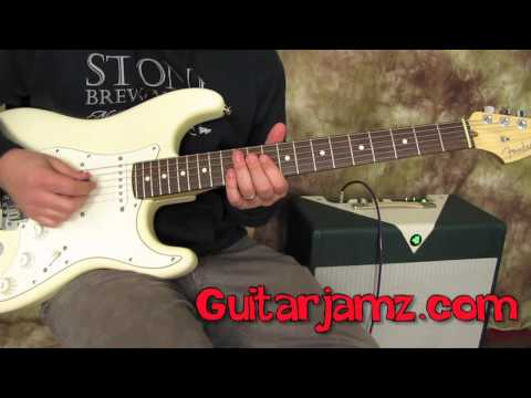 Guitar Scales Lessons - Mixolydian Mode - Scales - Blues Rock Jazz Fusion Licks