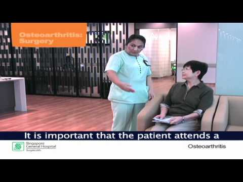 Knee Replacement Surgery - Singapore Health Video Series