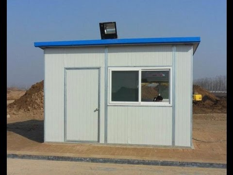 Sandwich Panels Prefab Homes Kit For Low Cost Fast