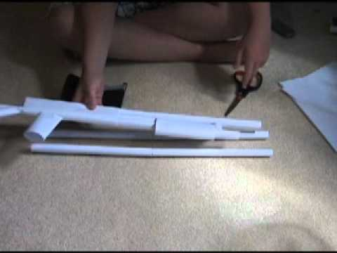 How to make a paper shotgun part 1