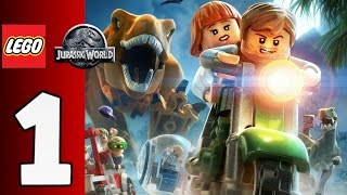 LEGO Jurassic World Gameplay Español Parte 1 - 1080p