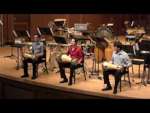 Lawrence University Percussion Ensemble (LUPÉ) - March 8, 2015