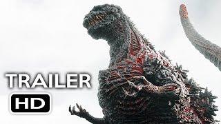 Godzilla Resurgence Official US Trailer #1 (2016) Shin Godzilla Movie HD
