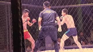 Manipur's Mixed martial Art Fight League Season 1 (My vlog)