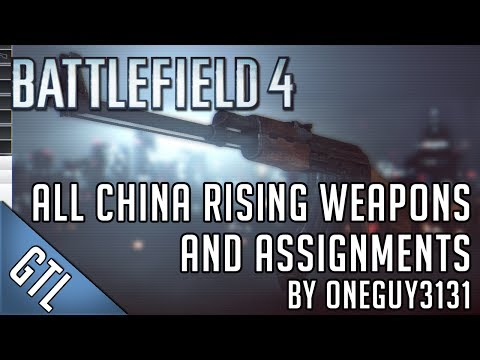 weapon assignments bf4