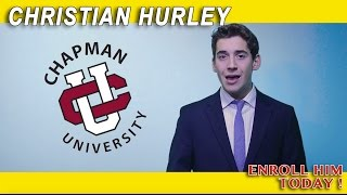 Chapman University Dodge College Application Video 2016 (ACCEPTED)