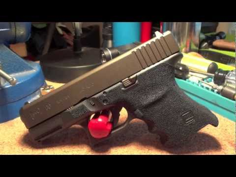Glock 30 SF .45 with Grip Reduction. Lava Rock Stippling. & Midnight Bronze Cerakote