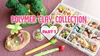Updated Polymer Clay Charm Collection Part 1 *NEW 2017*