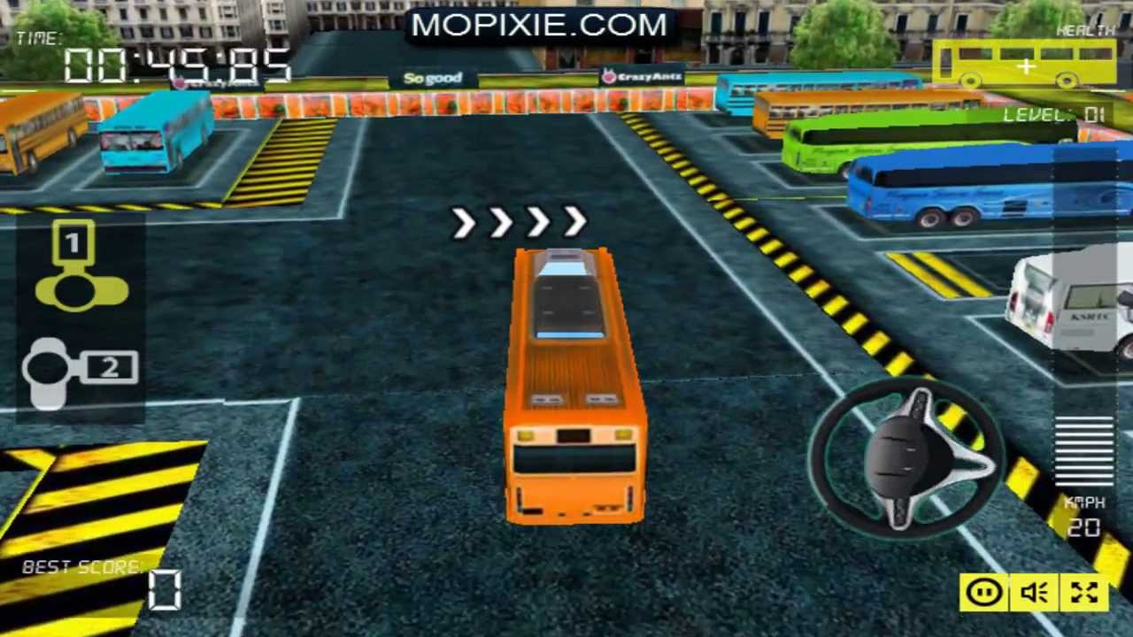 Busman Parking 3d Level 1 5 Youtube