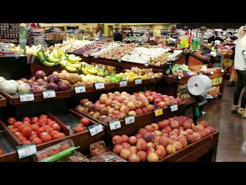 Америка. День благодарения. Закупки в магазине к столу. Продукты в США. Что едят американцы.