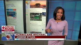 Storm surge to hit Tampa Bay today due to Hurricane Michael