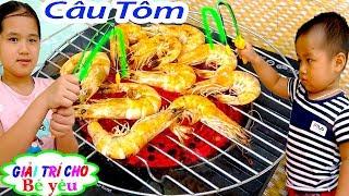 TRÒ CHƠI CÂU TÔM NƯỚNG TÔM|shrimp game, grilled shrimp🏠Giải trí cho Bé yêu