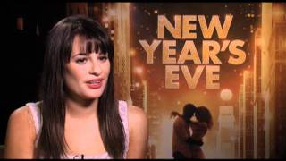 Lea Michele Interview for NEW YEAR